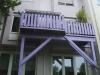 Balkon frueher