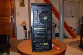 PC von hinten