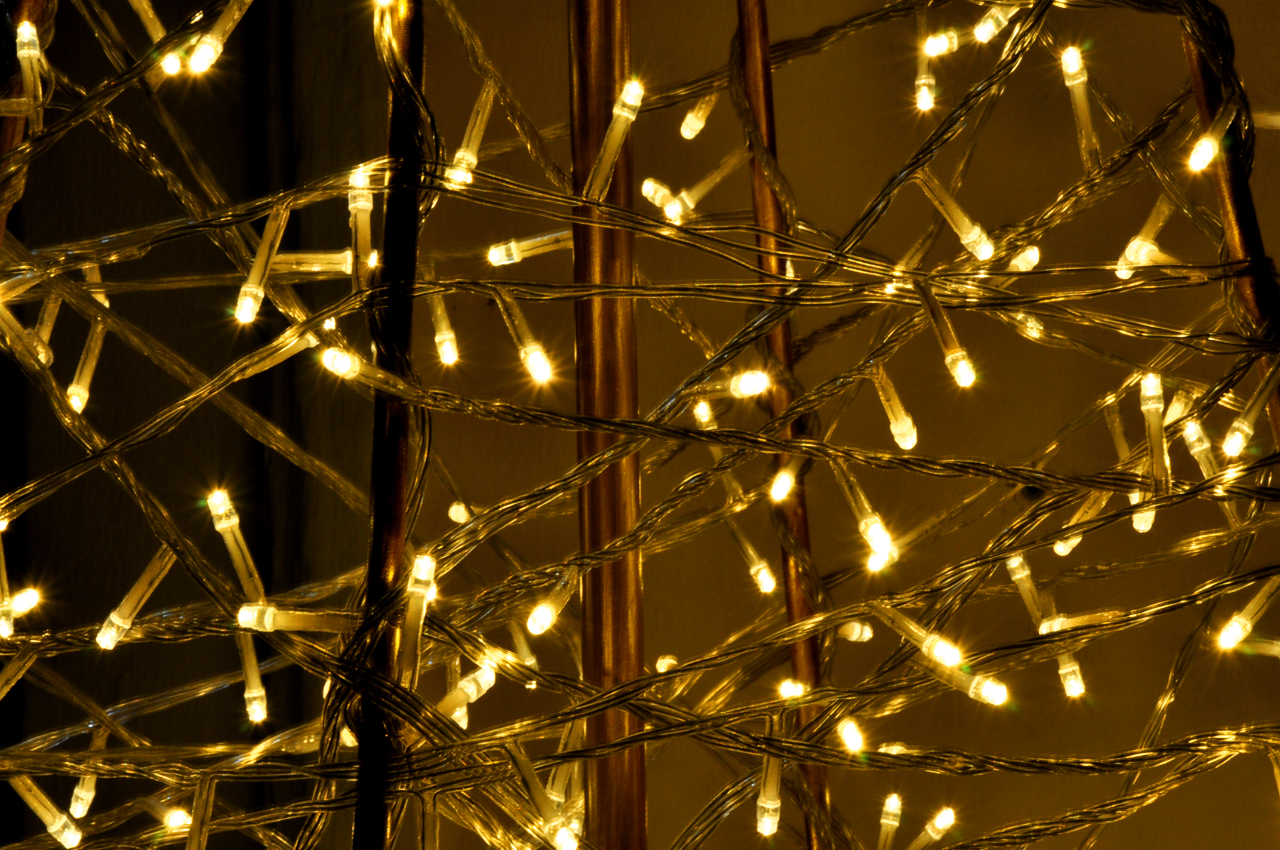 Detail Metall Weihnachtsbaum